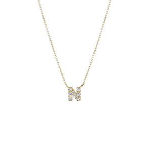 NA0014N Alphabet Necklace
