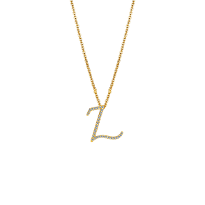 NN897Z Alphabet Necklace