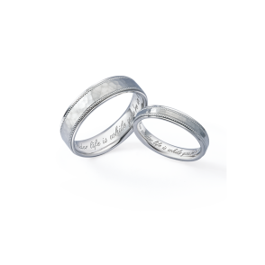 德國工藝acredo Wedding Rings- RMF0509