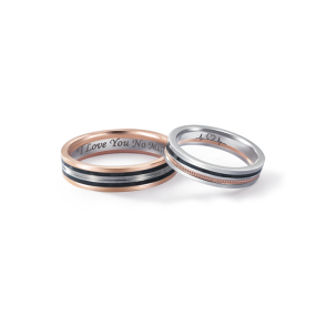 德國工藝acredo Wedding Rings- RMF0510
