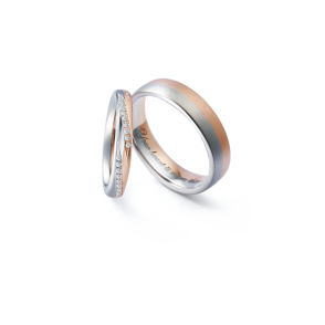 德國工藝acredo Wedding Rings- RMF0511