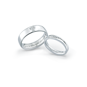 德國工藝acredo Wedding Rings- RMF0513