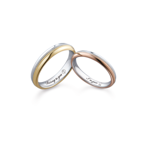德國工藝acredo Wedding Rings- RMF0556
