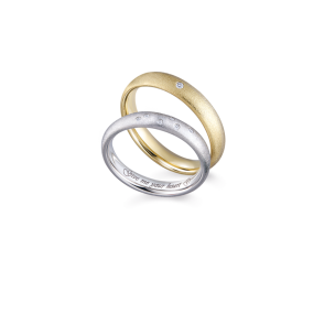 德國工藝acredo Wedding Rings- RMF0562