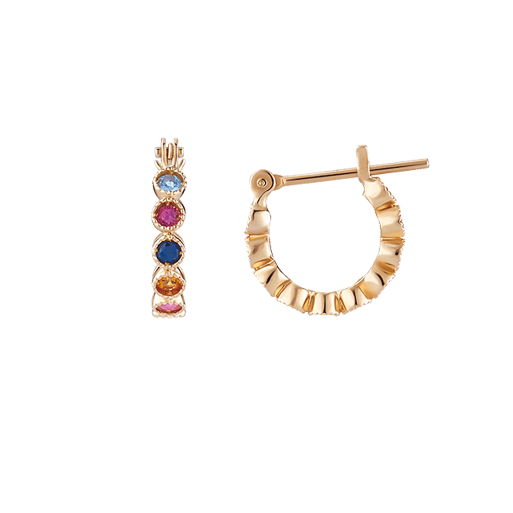 ES0114 Color Gem Earrings