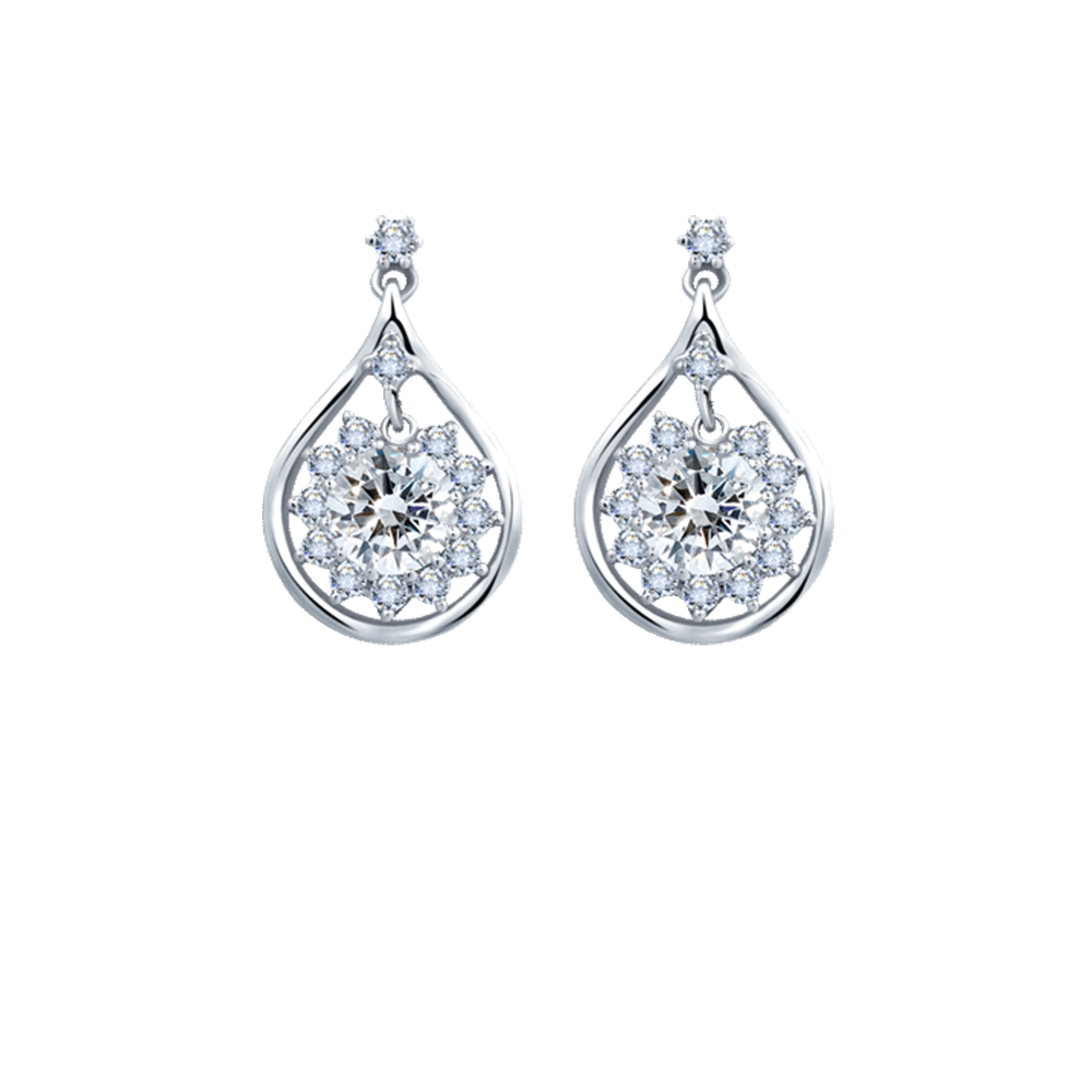 ES0811 Diamond Earrings