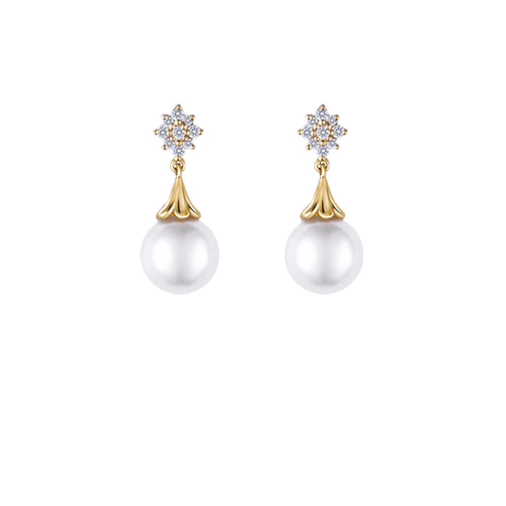ES0816 Pearl Earrings
