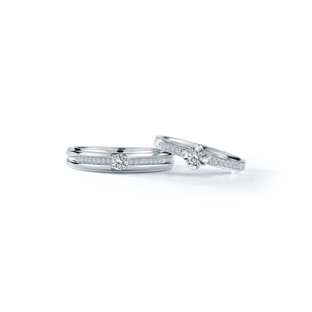 RBG0504 Wedding Rings