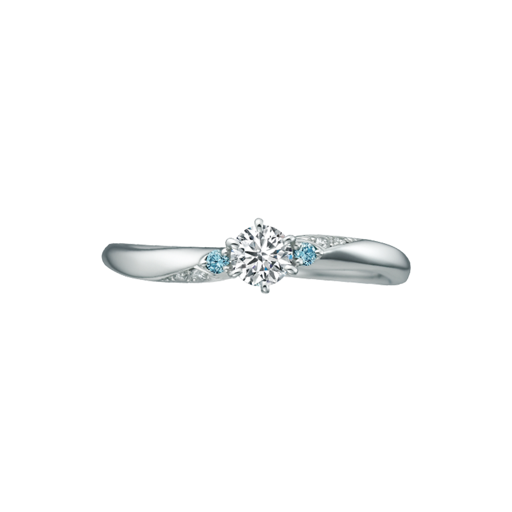 Cinderella- Brilliant Magic PT950 Platinum Engagement RingRSD0003